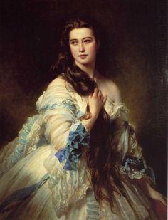 Franz Xaver Winterhalter Madame Barbe de Rimsky-Korsakov (1864)