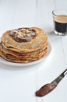 Nutella pancakes.