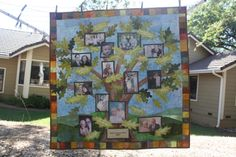 Family Tree Quilt by Jane Haworth at Etsy shop Happy Quilt Designs