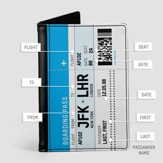 Boarding Pass - Passport Cover