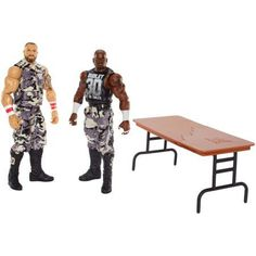WWE Bubba Ray Dudley and Devon Dudley Figure, 2-Pack, Multicolor