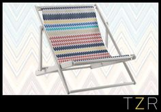 MissoniHome Regista Deck Chair - this looks like the ideal seat for summer sunning!