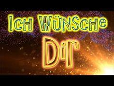Geburtstagsgrüße in deutscher sprache zum verschicken - YouTube