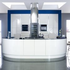 Mackintosh Kitchens Aberdeen, are inspired by the designs and architecture of Charles Rennie Mackintosh, choose a bespoke kitchen from North East Interiors. Ivory Kitchen, Nice Kitchen, Kitchen Tips, Kitchen Dining, Kitchen Island, New Kitchen Inspiration, Bespoke Kitchens, Modern Kitchens, Fitted Kitchens