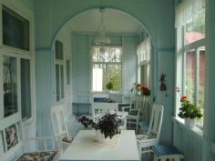 old finnish veranda
