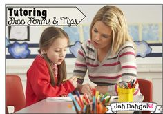 Free Tutoring Forms and tips.  These are great for teachers, tutors, and parents!