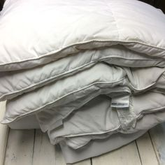 all down comforter king size beauty rest hollander polyester fabric baffled - Down Comforter King