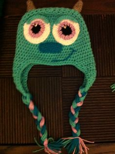 Sully crochet hat