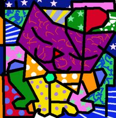 Working on Britto's works