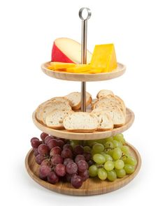 Core Bamboo 3-Tier Serving Tray