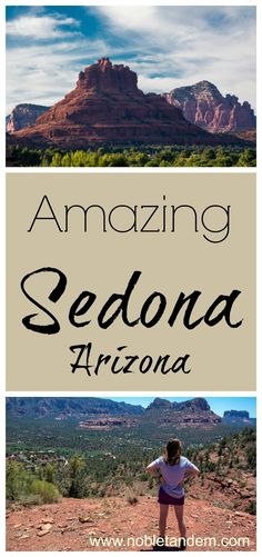 Recognized throughout the world for its stunning red rocks, natural beauty is breathtaking. Sedona is intensely spiritual some say even sacred. The sunset is another highlight of a visit to Sedona. The metamorphosis of the landscape as the sun disappears over the horizon http://www.nobletandem.com/sedona/