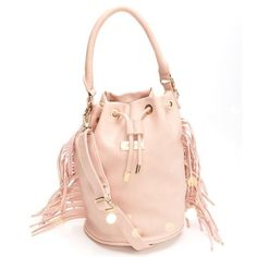 BCBG Paris Fringe Bucket Tote Get ready for Spring with this pretty in pink BCBG Paris Fringe bucket tote! Gold toned hardware, magnetic button. Adjustable Crossbody strap included. Beautiful with a Spring A-Line dress, bright lips, and Pink pumps! BONUS: Free crystal jewelry set of your choice, if purchased at listed price!! No trades or lowball offers considered. (FREE SHIPPING ON MERCARI) @nperalez  BCBG Bags Totes