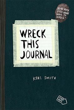 Wreck This Journal by Keri Smith. This book is a fun and powerful primer on using creative destruction in the artmaking process. (http://www.amazon.com/dp/0399161945/ref=cm_sw_r_pi_dp_o654ub01W4FX4)