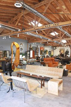 JF Chen Antique lovers, this one's for you. JF Chen is a collector's paradise, with 34,000 square feet of gallery and showroom space. Furniture, lighting, accessories, and art all abound at this stunning Hollywood spot. JF Chen, 941 North Highland Avenue; 323-466-9700.