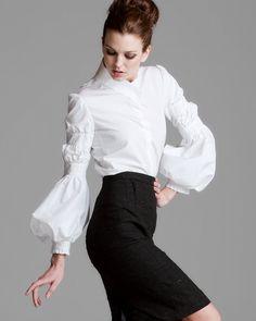 very special, feminine blouse (Valentino)