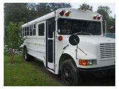 Converted School Bus Tiny House