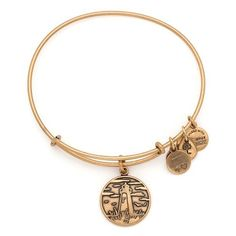 Alex and Ani Women's Lighthouse Charm Bangle Rafaelian Gold Finish *** More info could be found at the image url.