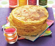 for all tastes! Crepes, Crepe Recipes, Breakfast, Ethnic Recipes, Sweet, Easy, Food, Salads, Sweet Treats