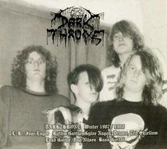 Darkthrone 1987/1988 Black Death Fenriz Nocturno Culto