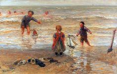 https://flic.kr/p/9iD6nK | Bernardus Johannes Blommers (1845-1914) Dutch artist | Russian art website www.liveinternet.ru/showjournal.php?journalid=2797296&amp...