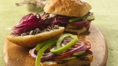 Bring the fabulous flavors of roasted sandwich to an appealing dinner enriched with cheese.