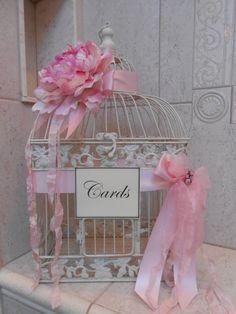 Birdcage Wedding Cardholder / Wedding Card Box / Bird Cage Card Holder