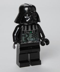 Darth Vader Alarm Clock by Lego Time on #zulilyUK today!  Too scared to sleep?