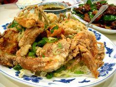 Salt Pepper Fried Soft Shell Crab