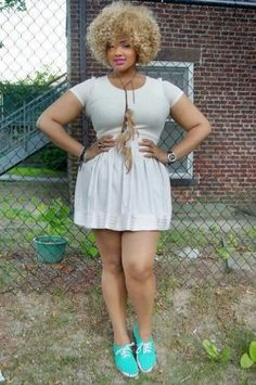 A True Fashionista from Hair to Clothing Baby!!! Trend-Set your A%# off Girl!!! Lol