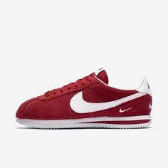 Nike Cortez Basic Se Men's Shoe In Amarillo Nike Cortez, Training Shoes, Herringbone, Sneakers Nike, Nike Shoes, Design Inspiration, Footwear, Black And White, Leather