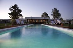 What an incredible pool at Casa Chic hotel in #Uruguay!