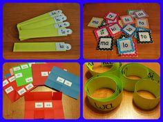 Nauka czytania ~ Zamiast kserówki. Edukacyjne gry i zabawy dla dzieci.