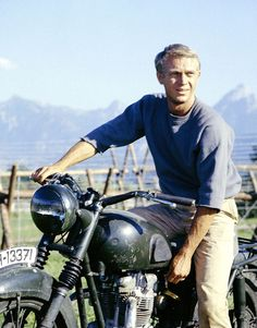 The Great Escape (1963). Steve McQueen!!! His picture should be next to the definition of Cool!!!