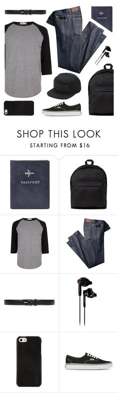 """""""Celebrity Travel Style"""" by cb-hula ❤ liked on Polyvore featuring FOSSIL, White Mountaineering, River Island, Gucci, Under Armour, Polo Ralph Lauren, Vans, men's fashion, menswear and CelebrityStyle"""
