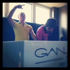 The moment we've all been waiting for! #hardrocksofa #gansevoortsummer