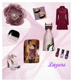 """""""Pink and Purple Layers"""" by loadsagifts on Polyvore featuring Joe Browns, Mary Katrantzou, JustFab, Marc Jacobs, Deborah Lippmann, look and layers"""