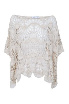 BLANCO Jersey poncho tricot 25,99€ Color: beige