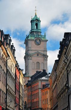 #Stockholm, Sweden  Gamla Stan. The heart of centuries old Stockholm. Lived in Bromma.  Stockholm is a great lady of a city. Loved it.