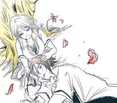 Shokugeki no Soma// Ryo Kurokiba and Alice Nakiri