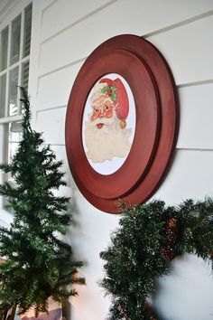 Rustic Christmas Sunroom -