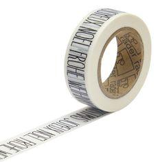 räder PAPER & POETRY Masking Tape -...
