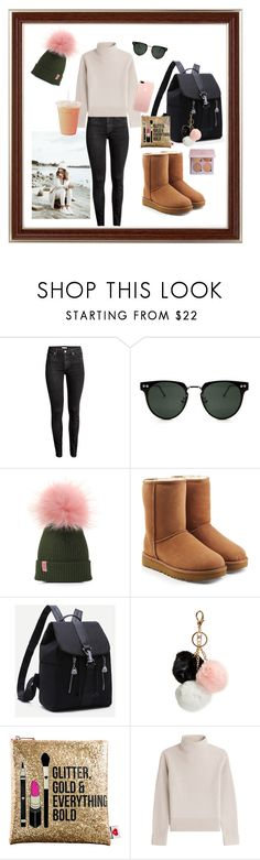 """""""Untitled #57"""" by floridanuha ❤ liked on Polyvore featuring H&M, Spitfire, UGG, GUESS, Sephora Collection and Vanessa Seward"""