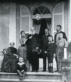 Pedro II of Brazil with his family shortly before being deposed. Vintage Photography, Family Photography, Old Photos, Vintage Photos, Portuguese Royal Family, Pedro Ii, History Facts, World History, Historical Photos