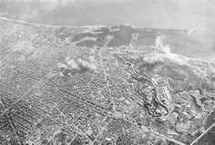 Ricognizione aerea bombardamento Barcellona