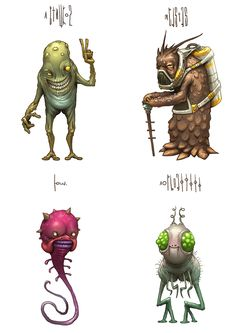 https://www.behance.net/gallery/19465429/Name-of-monster-Part-2