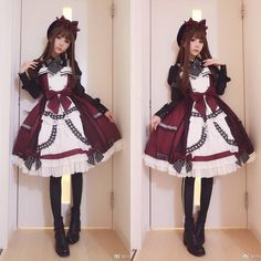 "329 mentions J'aime, 4 commentaires - スイカ (@kyouko_zzz) sur Instagram : ""#tokyostyle #lolitafashion #今日のコーデ #lolitadress #lolitastyle 中国からのロリータ洋服"""