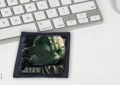 Condones con los personajes de Star Wars