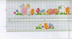 Cross Stitch Bookmarks, Cross Stitch Rose, Cross Stitch Baby, Cross Stitch Animals, Cross Stitch Patterns, Hobbies And Crafts, Diy And Crafts, Boys With Tattoos, Baby Patterns