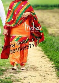 Beautiful suit Phulkari Suit, Desi Wear, Beautiful Suit, Patiala, Punjabi Suits, My Wardrobe, Indian Fashion, Heart, How To Wear