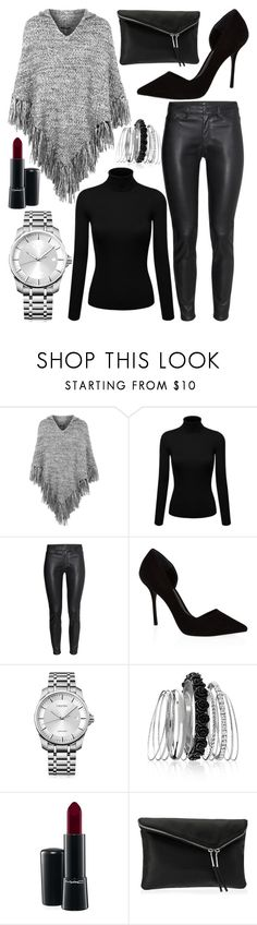 """""""Untitled #569"""" by daimy-style ❤ liked on Polyvore featuring Topshop, H&M, KG Kurt Geiger, Calvin Klein, Avenue, MAC Cosmetics and Henri Bendel"""